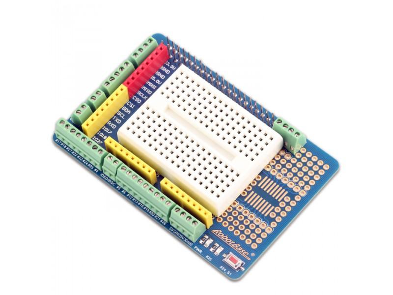 Prototype Shield for Raspberry Pi B+ Controller