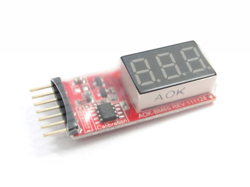 Li Battery Voltage Check Meter