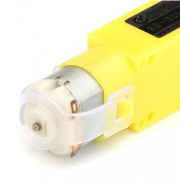 Mini Biaxial DC Gear Motor 1:120 for 4WD Mobile Car Chassis