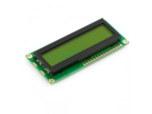 Basic 16x2 Character LCD - Black on Green 5V