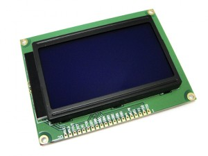128x64 Graphic LCD for Arduino Controller