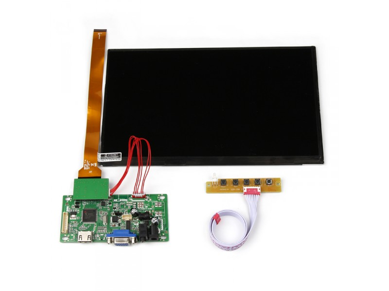 """Raspberry Pi 10.1"""" TFT LCD Display ( without AV interface)"""