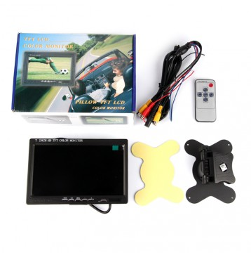 7 inch TFT LCD Monitor with HDMI Interface for Raspberry Pi or Pcduino