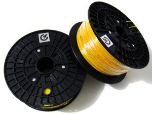 PLA Filament for 3D Printer--Yellow