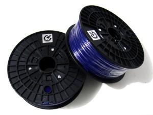 PLA Filament for 3D Printer -- Cyan