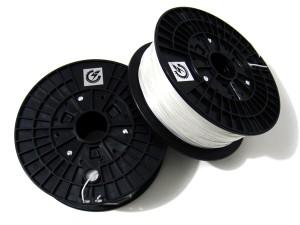 PLA Filament for 3D Printer -- White