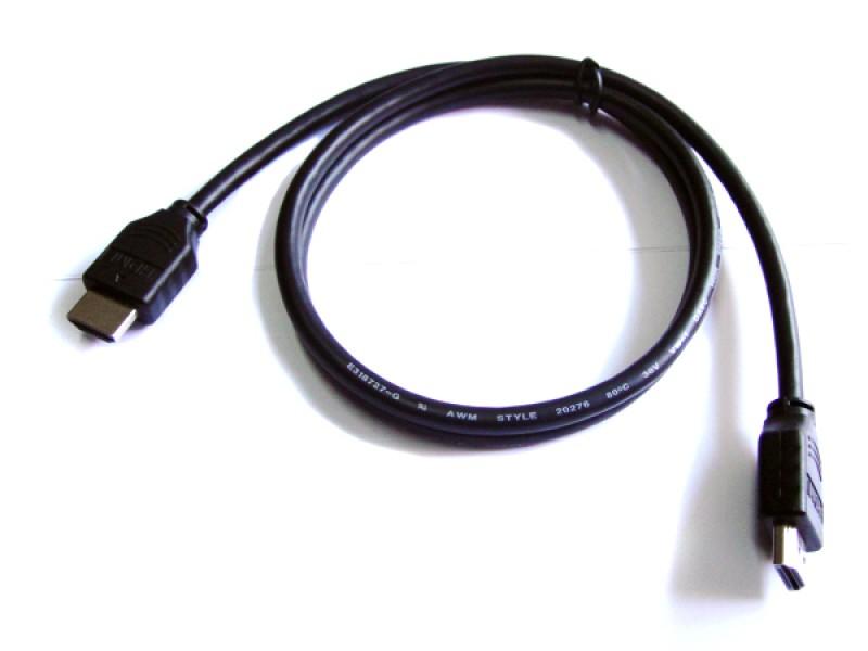 HDMI to HDMI Male Lead Cable(1m)