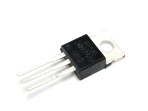 N-Channel MOSFET IRF520, Transistor 40V 12A