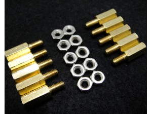 10 Sets M3 * 10 Hexagonal Standoffs Mounting Standard Kit