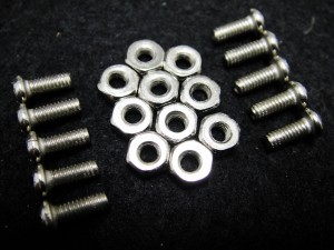 10 sets M3 *8 Mounting Screws