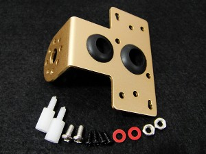 Ultrasonic Sensor Mounting Bracket--Gold