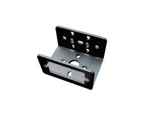 Mini Aluminum Multi-Purpose Micro Servo Bracket - Black
