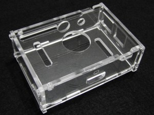 Acrylic Case for Raspberry Pi B -Clear