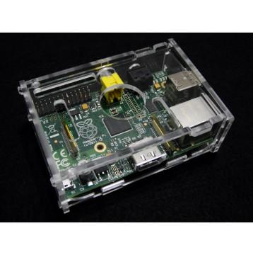 Acrylic Case for Raspberry Pi B -Clear