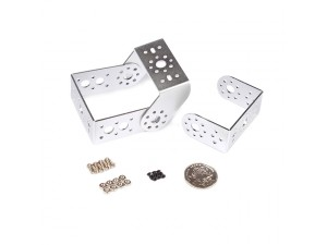 "Aluminum ""U"" Shape Servo Bracket Kit-Silver"