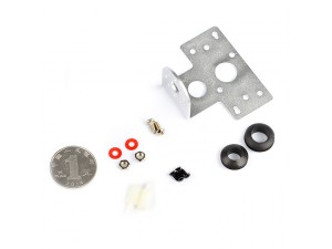 Aluminum Ultrasonic Sensor Mounting Bracket Kit-Silver