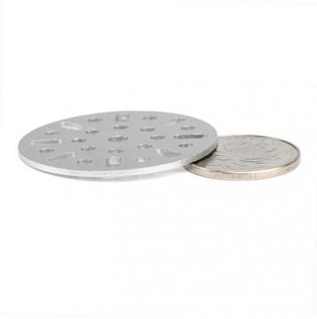 Multi-function Aluminum Circular Plate Kit