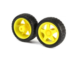 65mm Rubber Wheel Kit