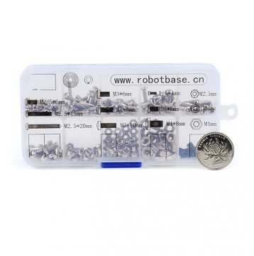 Screw Kit for Getting Started with Robot Kit