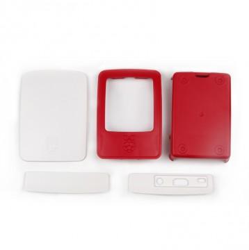 Raspberry Pi3 Case White and Strawberry