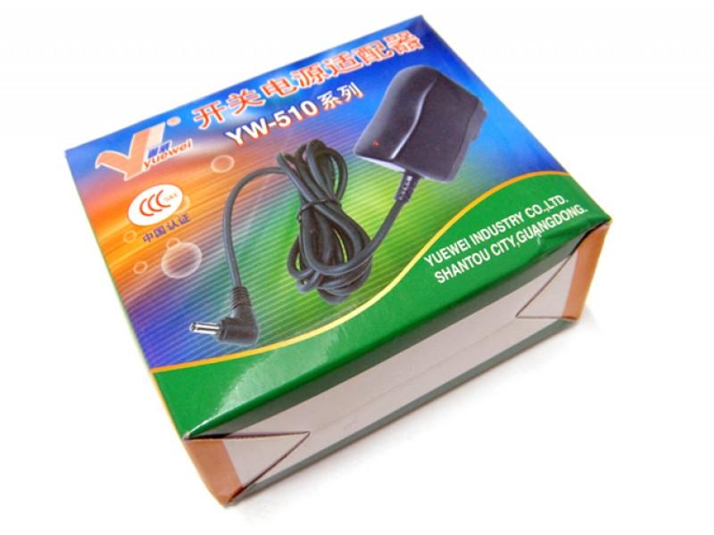 Wall Adapter Power Supply7.5V/800mA