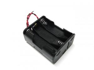 6xAA Battery Holder(double layer)