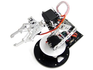 AS-6DOF Robotic Arm--within 32 Servo Motor Control System