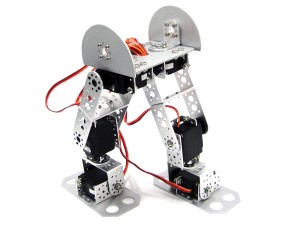 AS-6DOF Biped Robot--without Electronic Control System