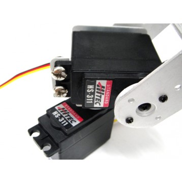 2-DOF HS-311 pan and tilt Kit
