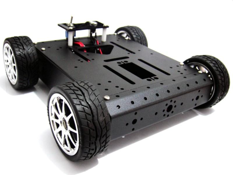 4WD Aluminum Mobile Robot Car(12V/120R)
