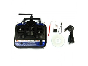 2.4G FS-CT6B 6-Channel Radio Model RC