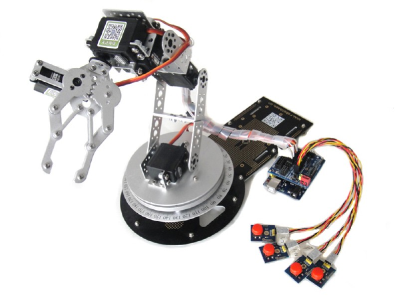 AS-6DOF Robotic Arm--within Arduino Control System