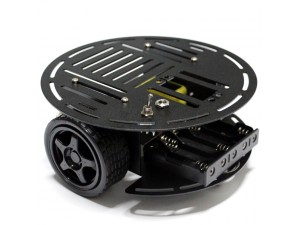 AS-2WD Aluminium Mobile Robotic Car Platform(1:120 DC Motor)