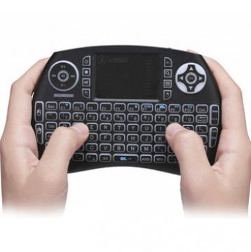 2.4G Mini Wireless Keyboard and Mouse with Touchpad for Rasperry Pi